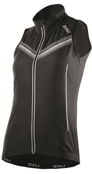 2XU W's Microclimate Reflector Vest Black/Black